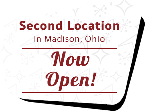 Second Location in Madison, Ohio Now Open!